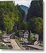 Ketchikan Alaska Metal Print