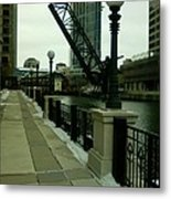 Kinzie Street Bridge Metal Print