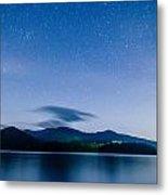 Lake Santeetlah In Great Smoky Mountains North Carolina Metal Print