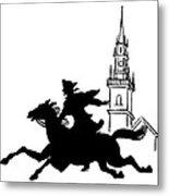 Paul Reveres Ride Metal Print