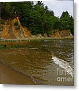 Sunset Bay State Park Metal Print by Gail Peters