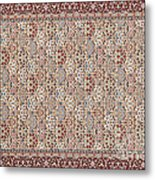 Turkish Carpet Metal Print