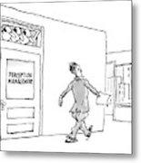 New Yorker April 24th, 2006 Metal Print