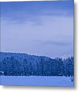 140303a-43 The Bull River Valley In Winter Metal Print