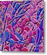 1412 Abstract Thought Metal Print