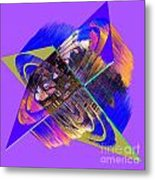 1422 Abstract Thought Metal Print