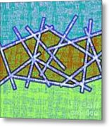 1455 Abstract Thought Metal Print