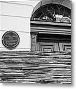 146 Harley Street Previously The Practise Of Lionel Logue Of The Kings Speech Fame London England Uk Metal Print