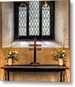 14th Century Chapel Metal Print