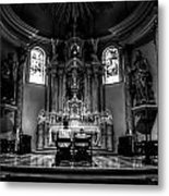 Church Of Saint Agnes Metal Print