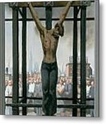15. Jesus Dies / From The Passion Of Christ - A Gay Vision Metal Print