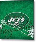 New York Jets Metal Print by Joe Hamilton