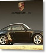 Porsche 911 3.2 Carrera 964 Turbo Metal Print