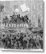 Presidential Campaign, 1864 Metal Print