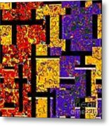1517 Abstract Thought Metal Print