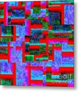 1520 Abstract Thought Metal Print