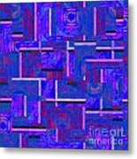 1527 Abstract Thought Metal Print
