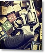 154 Bullets In 5 Minutes Metal Print