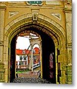 1540 Entrance To Enkhuizen-netherlands Metal Print