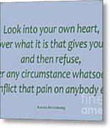 156- Karen Armstrong Metal Print