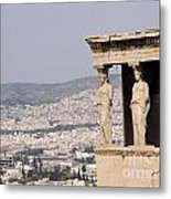 Acropolis Metal Print