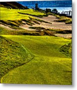 #16 At Chambers Bay Golf Course - Location Of The 2015 U.s. Open Tournament Metal Print