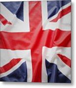 British Flag 23 Metal Print