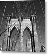Brooklyn Bridge - New York City Metal Print