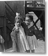 Chicago Children, 1941 Metal Print