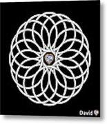 16 Circles Metal Print