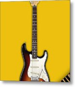 Fender Stratocaster Collection Metal Print