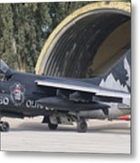 Hellenic Air Force Ta-7 Corsair II Metal Print