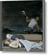 16. Jesus Is Buried / From The Passion Of Christ - A Gay Vision Metal Print