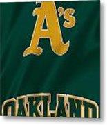 Oakland Athletics Metal Print
