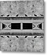 16 Pigeons On A Pharaoh's Tomb Metal Print
