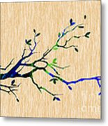Tree Branch Collection Metal Print