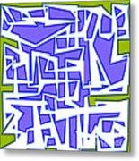 1623 Abstract Thought Metal Print