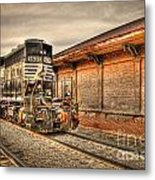 Locomotive 1637 Norfork Southern Metal Print