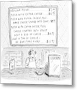 New Yorker August 14th, 2000 Metal Print