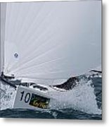 All Sail Metal Print