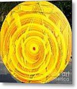 Eternal Circle Metal Print