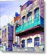 Jordan/amman/old House Metal Print by Fayez Alshrouf