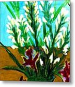 My Flowers Metal Print