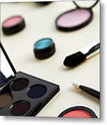 Still Life Of Beauty Products Metal Print