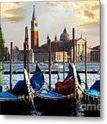 Venice In Italy Metal Print
