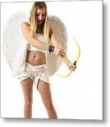 Cupid The God Of Desire Metal Print by Ilan Rosen