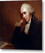 James Watt (1736-1819) Metal Print