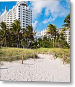 Miami Beach Metal Print