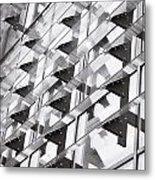 Modern Building Metal Print