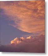 Montana Clouds Metal Print by Yvette Pichette